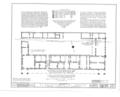 El Palacio Real de Santa Fe, Palace Avenue, Santa Fe, Santa Fe County, NM HABS NM,25-SANFE,2- (sheet 25 of 26).png