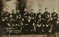 El presidente Francisco I. Madero y su estado mayor presidencial (c. 1911), de Agustín Víctor Casasola.tif