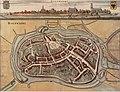 Elf reproducties van Friese stadsplattegronden uit de Beschrijving van Heerlijkheydt van Friesland door Bernardus Schotanus a Sterringa uitgegeven in 1664 Bolswaert.JPG