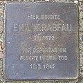 Emil Mirabeau - Sierichstraße 153 (Hamburg-Winterhude).Stolperstein.crop.ajb.jpg