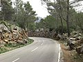 En la carretera, cerca Fornalutx, Mallorca - panoramio.jpg
