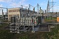 Enbw Umspannwerk Grossgartach 380kV Transformator 03082016 1.JPG
