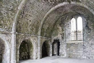 Ennis Friary - Sacristy, used as a courtroom for the assizes after the Reformation