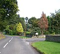 Entrance to Aradaluin House Outdoor Pursuit Centre from Bryansford Road - geograph.org.uk - 1470896.jpg