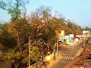 Eraniel Town in Tamil Nadu, India