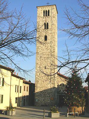 Erba, Lombardy - Image: Erba Chiesa Santa Eufemia