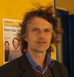 Erling Fossen Norwegian politician from Oslo in the election campaign September 2007.jpg