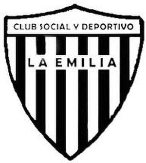 Club Social y Deportivo La Emilia - Image: Escudo de La Emilia