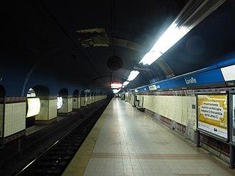 Lavalle (Buenos Aires Underground) - Image: Estación Lavalle Línea C Subte de Buenos Aires