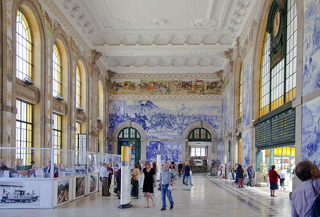 železničná stanica, Portugalsko