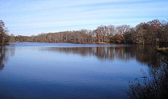 East Windsor Township, New Jersey - Etra Lake Park in the eastern portion of the township