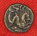 Etruschi, lucca, ippocampo tra delfini, argento, 10 unità, 300-275 ac ca..JPG