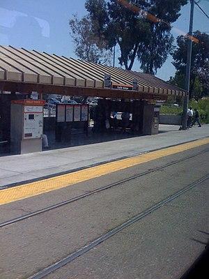 Euclid Avenue station (San Diego Trolley) - Euclid Avenue Station, 2008