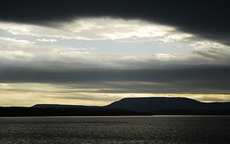 Mount Nebo (Arkansas) - Mt. Nebo viewed from Lake Dardanelle