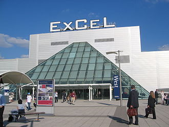 Boxing at the 2012 Summer Olympics - ExCeL Exhibition Centre, the venue for the boxing at the 2012 Olympic Games.