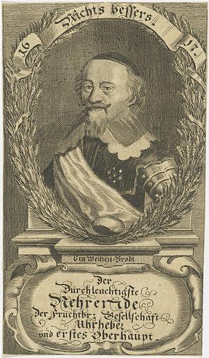 Louis I, Prince of Anhalt-Köthen - Louis I, Prince of Anhalt-Köthen.
