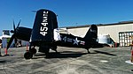 F2G-1 Corsair with wings manually folded. BuNo 88454.jpg