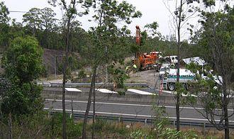 Hunter Expressway - Image: F3Core Sampling