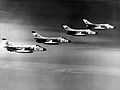 F4D-1 Skyrays VF-13 in flight 1962.jpg