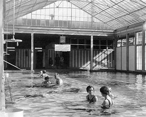 Warm Springs Historic District - FDR at Warm Springs (1928)