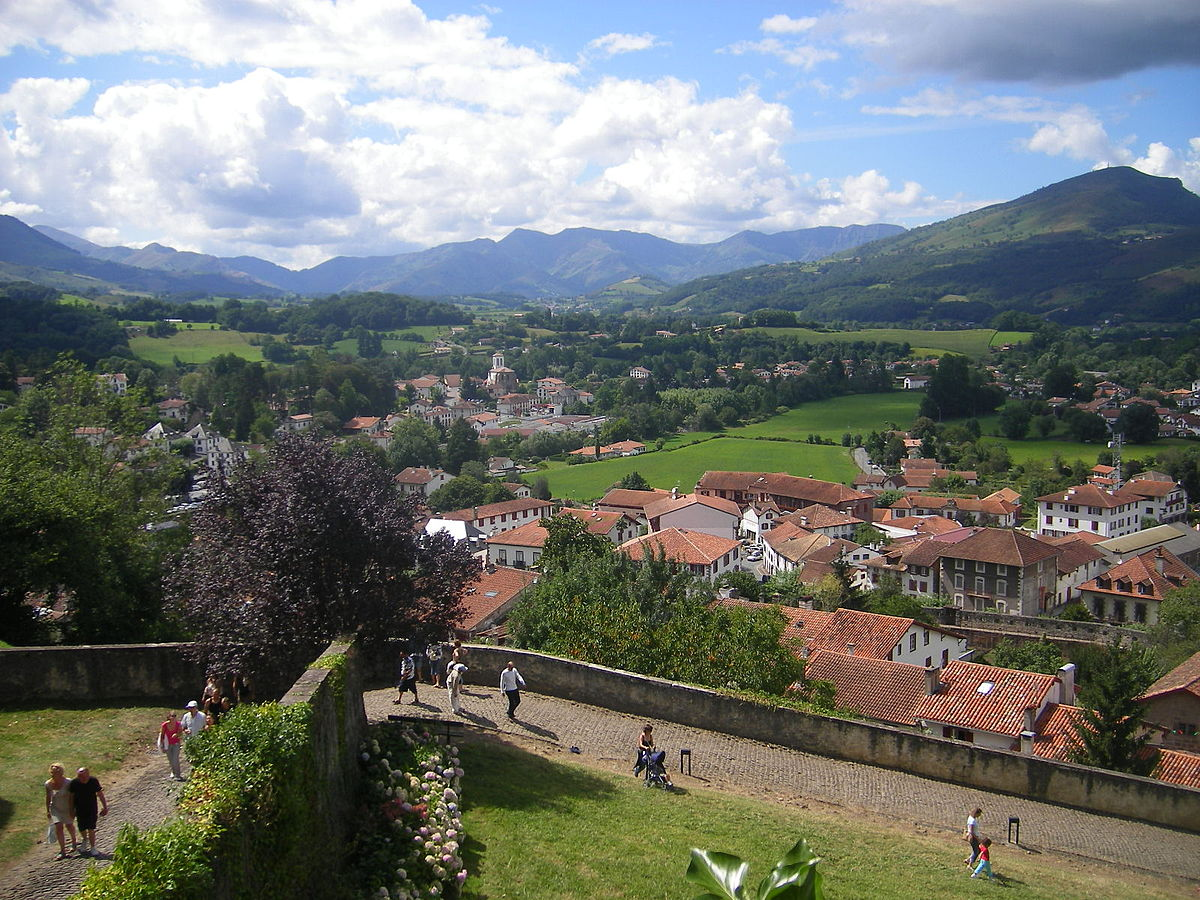 Saint jean pied de port travel guide at wikivoyage - Train from bayonne to st jean pied de port ...