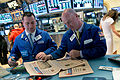 FT ringing the Closing Bell at the NYSE (8740578769).jpg