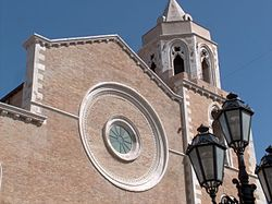 Façade of Lucera's Cathedral.jpg