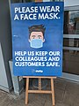 Face mask sign at Donnington Services.jpg