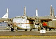 Fairchild C-82A N53228 Film LGB 17.10.70