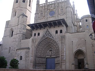Huesca - Cathedral of Huesca.