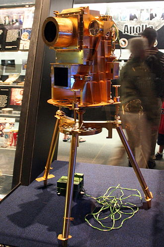 George Robert Carruthers - telescope developed by Dr. Carruthers on display at the National Air and Space Museum