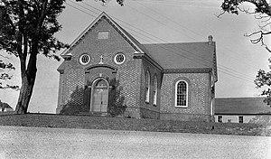 Skirmish at Farnham Church - Image: Farnham Church (Episcopal), State Routes 602 & 607, Farnham (Richmond County, Virginia)