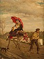 Federico Eder y Gattens Family with donkey 1883.jpg