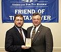 Felix Grucci receives the 'Hero of the Taxpayer Award'.jpg