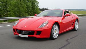 Ferrari 599 GTB Fiorano (French plate erased)....