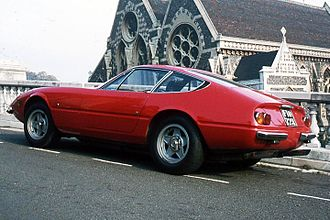 Leonardo Fioravanti (engineer) - Ferrari 365GTB, popularly known as the Daytona