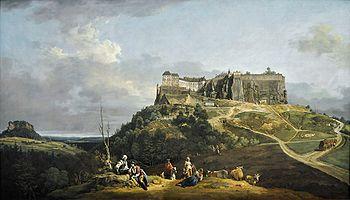 Festung Königstein 1756-1758 Canaletto.jpg