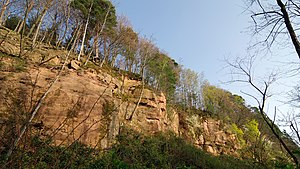 Rastatt Fortress - Fortress quarry on the Eichelberg