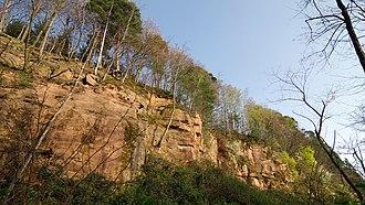 Rastatt Fortress - Fortress quarry on the Eichelberg
