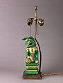 Figure of lion mounted as lamp MET SLP1729-1 2.jpg