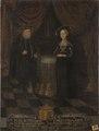 Filip, 1504-1567, lantgreve av Hessen-Kassel. Kristina, 1505-1549, prinsessa av Sachsen - Nationalmuseum - 15538.tif