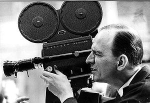 Ingmar Bergman filming 1965.