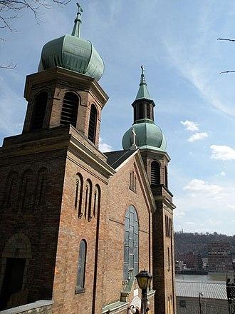 St. Nicholas Croatian Church (Troy Hill, Pennsylvania) - Former St. Nicholas Church, now demolished