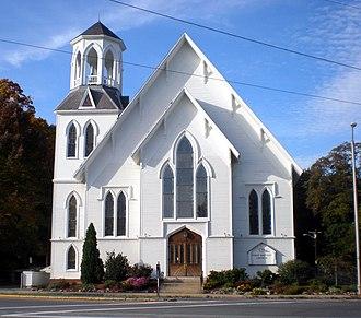 First Baptist Church (Methuen, Massachusetts) - First Baptist Church Methuen MA