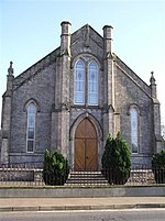 First Stewartstown Presbyterian Church It is in the centre of the town