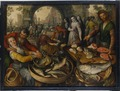 Fish Market with Ecce Homo (Joachim Beuckelaer) - Nationalmuseum - 17274.tif