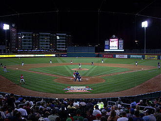 New Hampshire Fisher Cats - Northeast Delta Dental Stadium during the 2008 Eastern League All Star Game