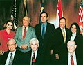 Five former Governors joining Governor Jeb Bush at the Florida Governors Forum.jpg