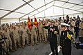 Flickr - Official U.S. Navy Imagery - The CNO leads a Who-yah cheer for Master Chief Petty Officer of the Navy..jpg