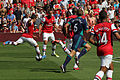 Flickr - Ronnie Macdonald - Santi Cazorla goes for goal.jpg